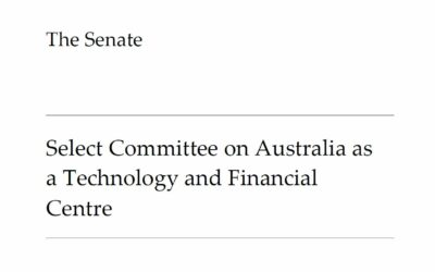 Senate Select Committee on Australia as a Technology and Financial Centre releases its final report